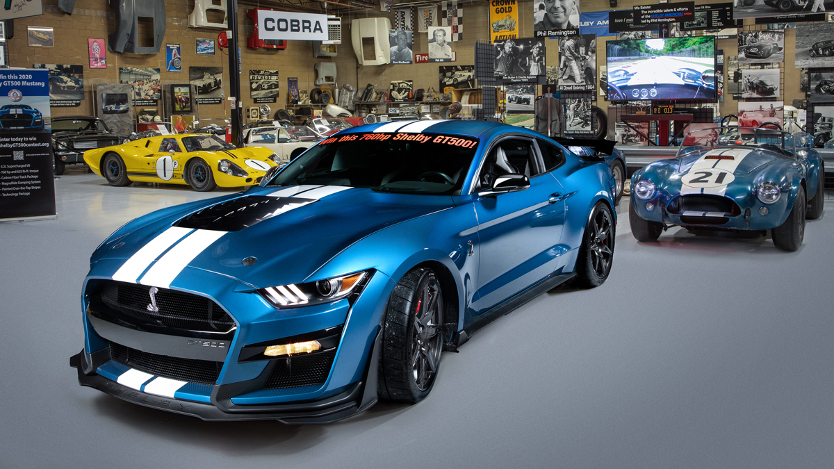 Win a 760 hp 2020 Shelby GT500 from the Shelby American ...