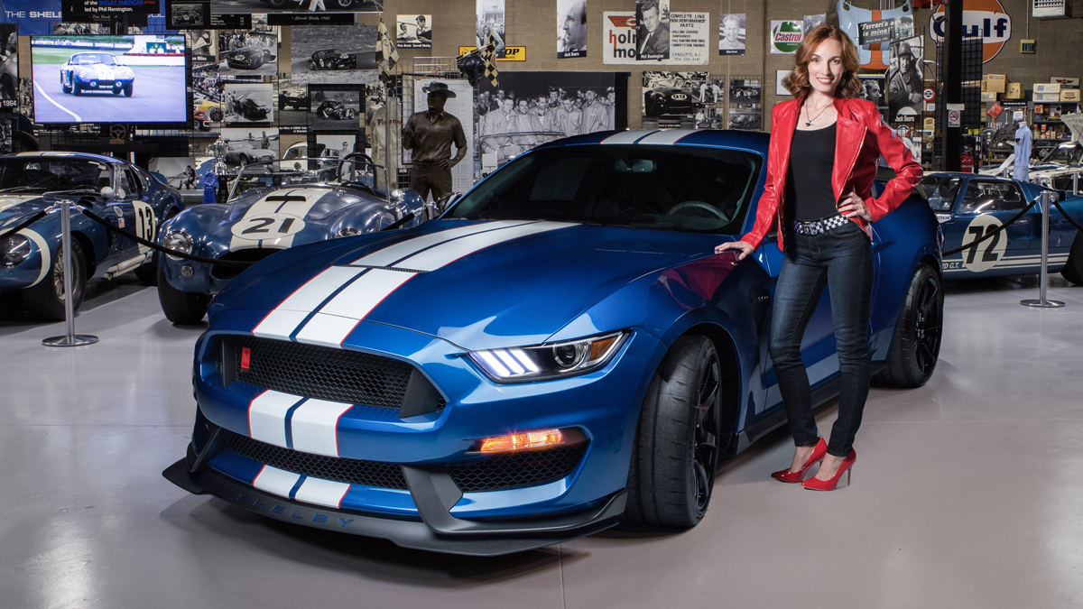 Win This Stunning High Performance Shelby Gtr Mustang