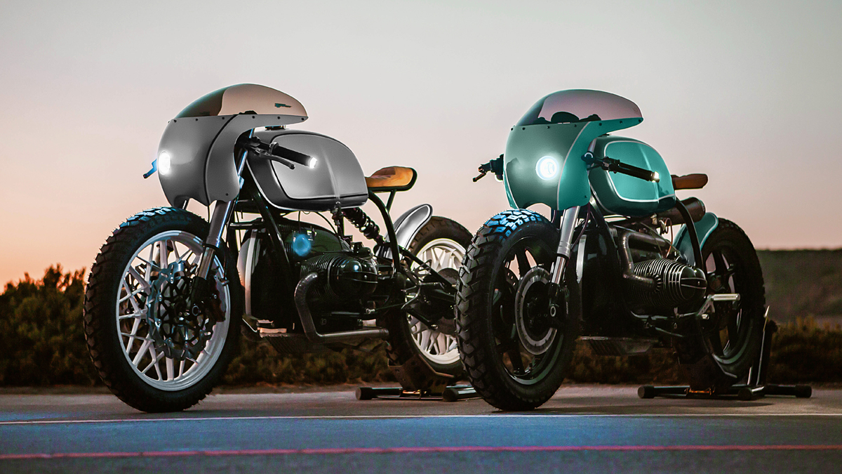 Win These Twin One Of A Kind Bmw R100 Cafe Racers