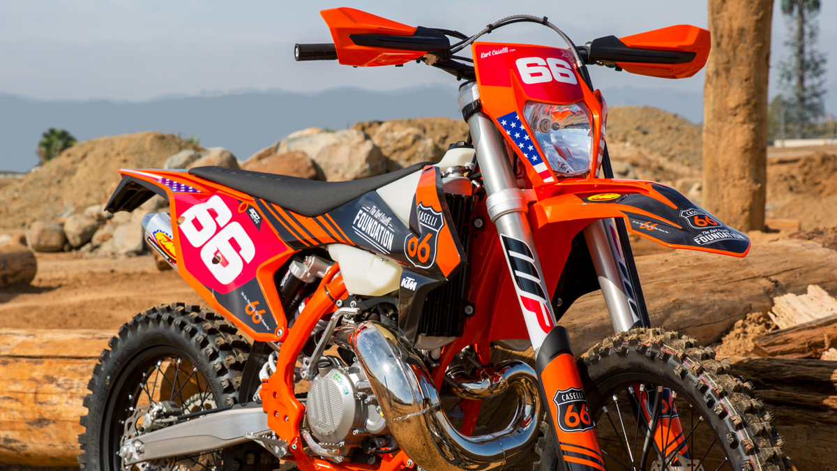 Win a KC66 Edition KTM 300 TPI Motorcycle